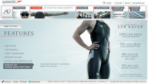 Speedo LZR Racer Swimsuit Official Webpage
