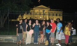 SPS Interns 2012 at the White House. Okay, in front of the White House... don't be petty.