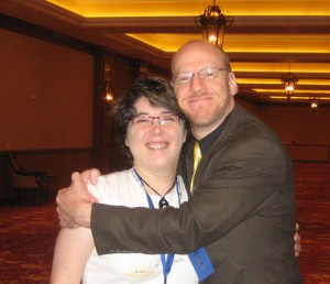 Phil Plait and I at TAM7