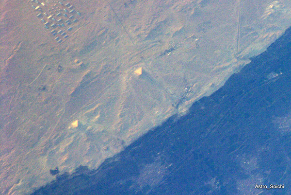 Man-made Structures Seen from Space